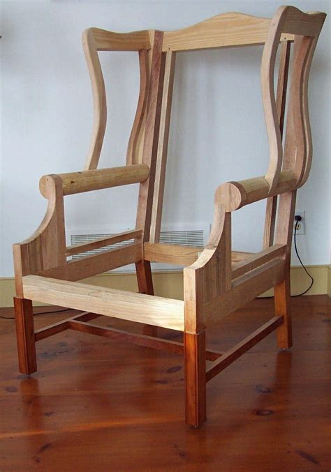Wing-Chair-Woodworking-Plans