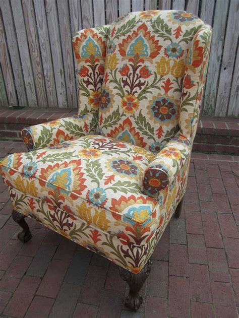 Wingback Chair Plans And Patterns Pinterest
