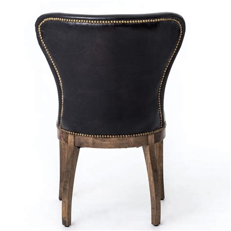 Wingback Dining Chair Leather