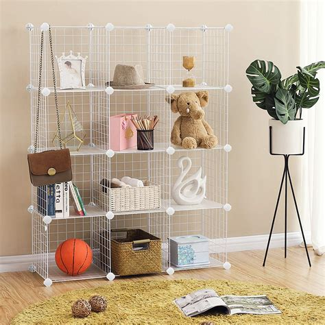 Wire Cube Storage Diy