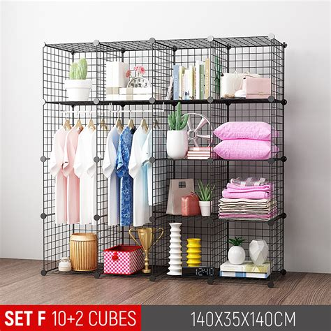 Wire Cube Storage Ideas Diy