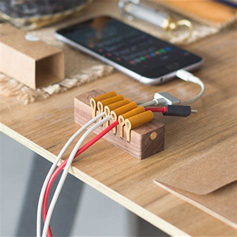 Wire Holders For Desk Diy