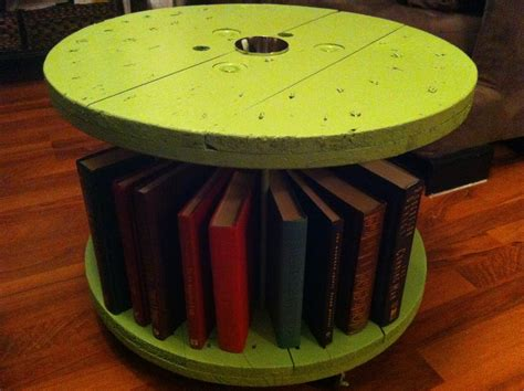 Wire Spool Storage Diy Projects