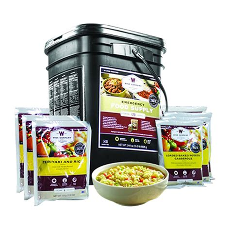 Wise Food-4320 Serving Package - Safecastle Com.