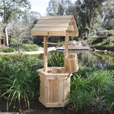 Wishing Well Lawn Ornament Plans