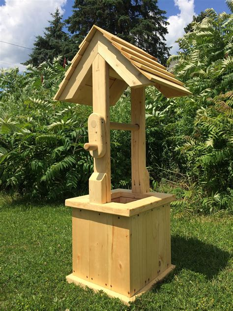 Wishing Well Plans Woodworking