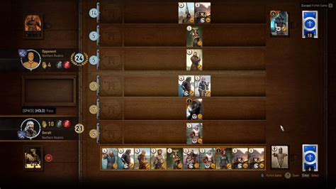 Witcher 3 Build Gwent Deck List