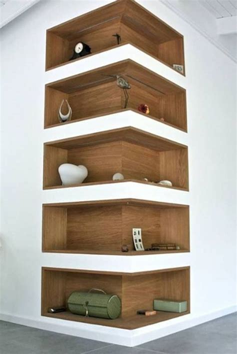 With-Lights-Corner-Shelf-Diy-Drywall