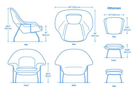 Womb-Chair-Plan-View