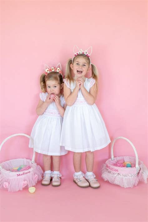 Women And Girl Matching Easter Outfits Diy