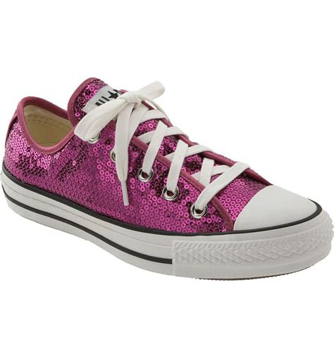 Women Converse Sequin Sneakers