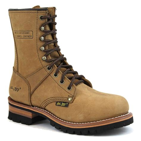 Women's 9' Logger Brown Work Boot