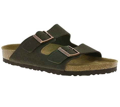 Women's Arizona Birko-Flo Cocoa Sandals - 45 N EU
