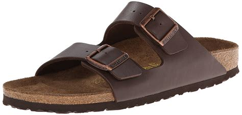 Women's Arizona Birko-Flo Dark Brown Birko-flor Sandals - 37 N EU (US Women EU's 6-6.5)
