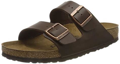 Women's Arizona Birko-Flo Dark Brown Birko-flor Sandals - 46 R EU (US Men EU's 13-13.5)
