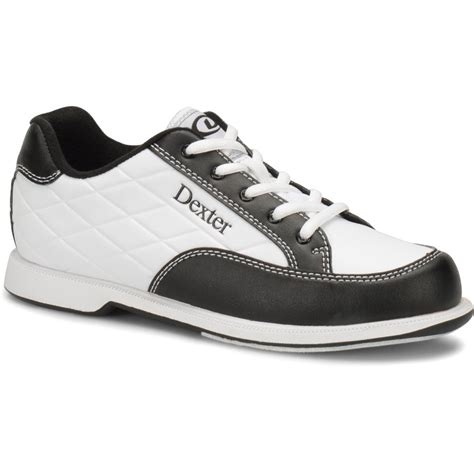 Women's Groove III Wide Bowling Shoes, White/Black, Size 10.0