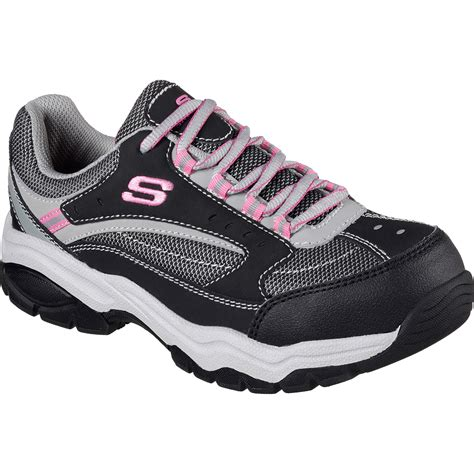 Women's Skechers Steel Toe Sneakers