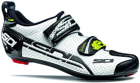 Women's T4 Air Carbon Triathlon Cycling Shoe White Black