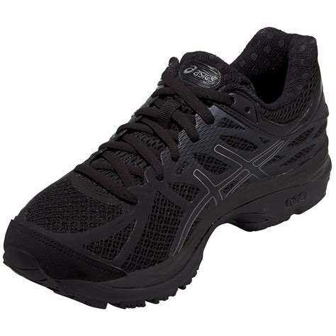 Womens Black Asics Sneakers