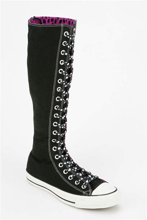 Womens Converse Knee High Sneakers