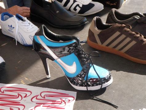 Womens Nike High Heel Sneakers