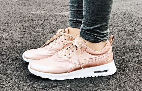 Womens Nike Rose Gold Sneakers