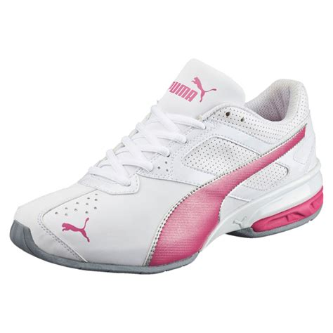 Womens Pink Puma Sneakers