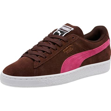 Womens Suede Classic Trainers