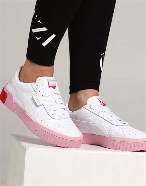 Womens White Puma Sneakers