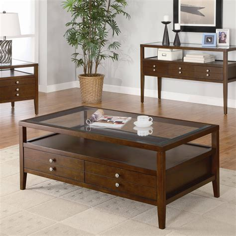 Wood And Glass Coffee Table Plans
