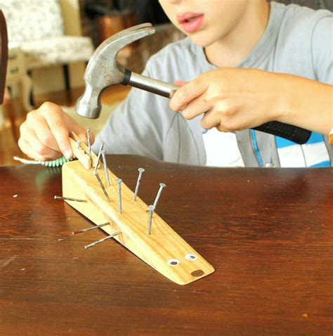 Wood And Nail Projects For Kids
