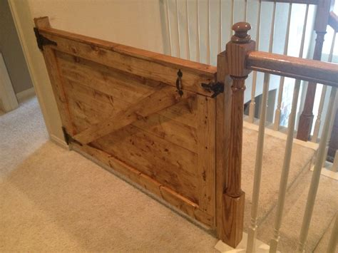 Wood Baby Gate Design Plans