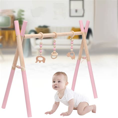 Wood Baby Gym Toys