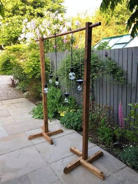 Wood Backdrop Stand Diy
