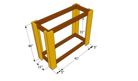 Wood Bar Plans Outdoor Plans