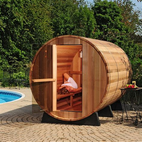 Wood Barrel Sauna Plans