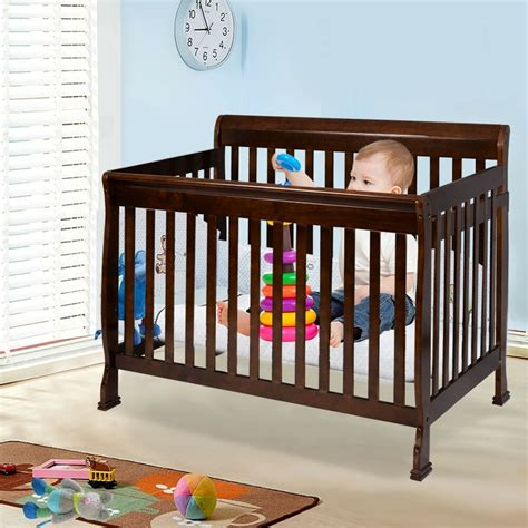Wood Bedside Crib