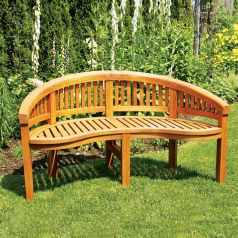 Wood Bench Seat Design