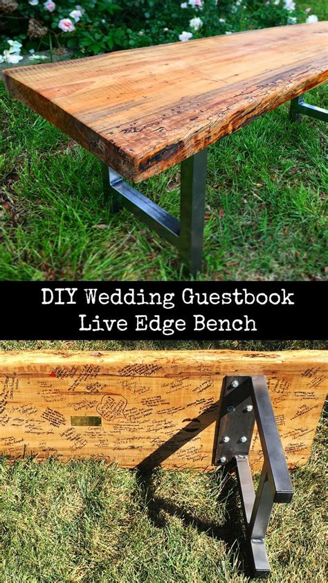 Wood Bench Vise DIY Wedding Programs