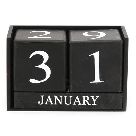 Wood Block Calendar In Bulk