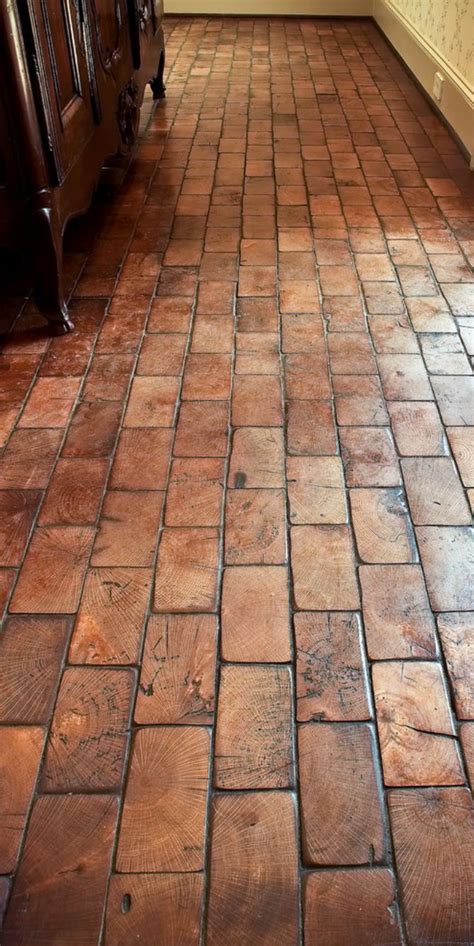 Wood Block Flooring Diy