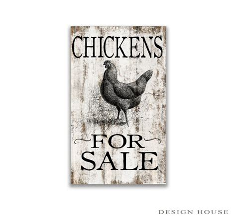 Wood Block Signs Diy Roosters