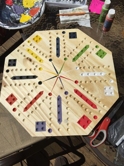 Wood Board Games DIY