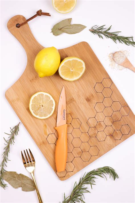 Wood Burned Cutting Board Diy