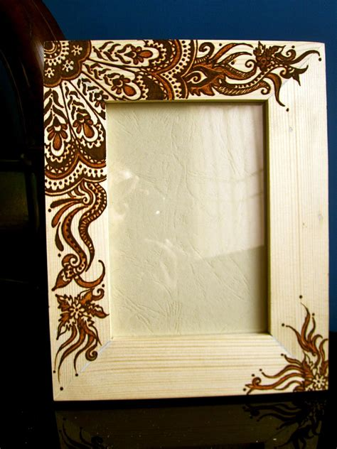 Wood Burning Picture Frame Designs