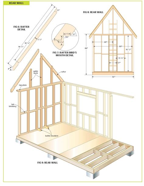 Wood Cabin Plans