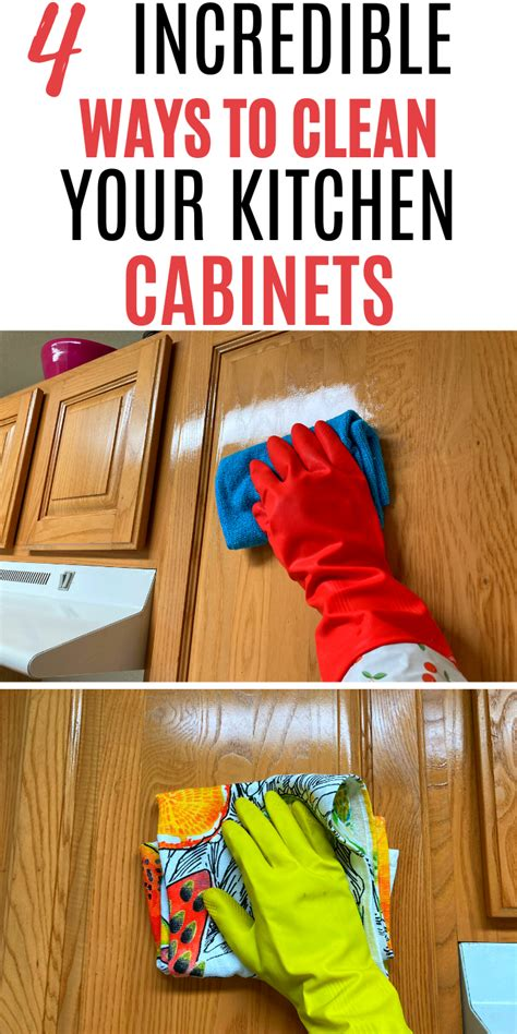 Wood Cabinet Cleaner Diy Hacks