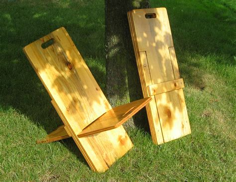 Wood Camp Stool Plans