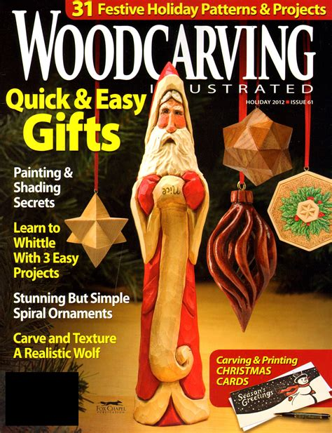 Wood Carving Magazines PDF