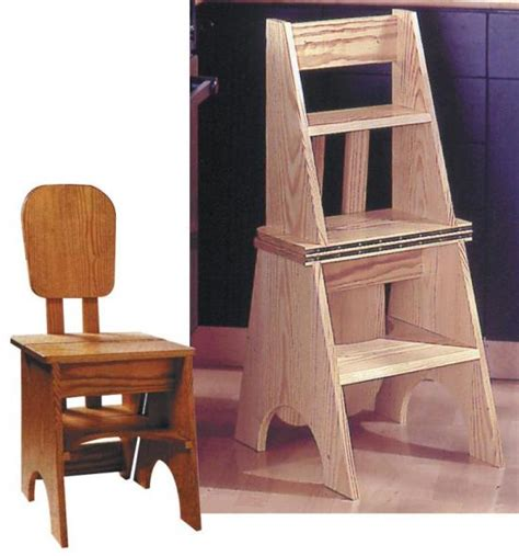 Wood Chair Plans By Handyman Magazine